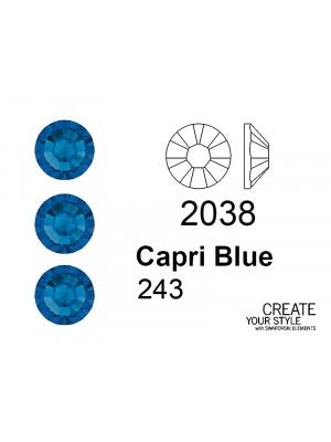 Swarovski Strass Termoadesivo CAPRI BLUE - 2038