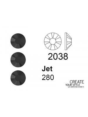 Swarovski Strass Termoadesivo JET - 2038