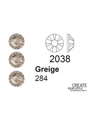 Swarovski Strass Termoadesivo GREIGE - 2038