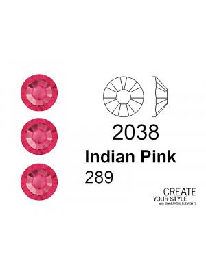Swarovski Strass Termoadesivo INDIAN PINK - 2038