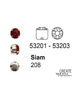 Swarovski Strass da cucito SIAM - 53201 - 53203