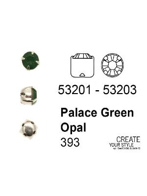 Swarovski Strass da cucito PALACE GREEN OPAL - 53201 - 53203