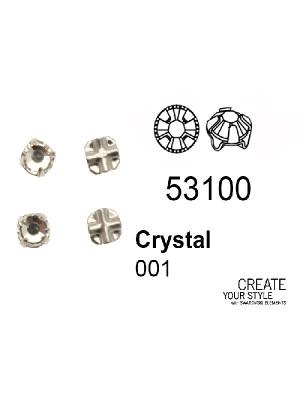 Swarovski Strass da cucito CRYSTAL - 53100