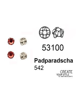 Swarovski Strass da cucito PADPARADSCHA - 53100
