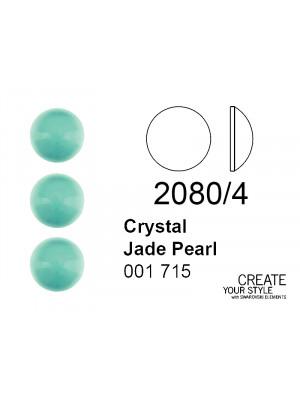 Swarovski Strass Termoadesivo (mezza sfera) CRYSTAL JADE PEARL - 2080/4