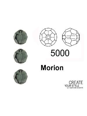 Swarovski Tondo Sfaccettato MORION - 5000
