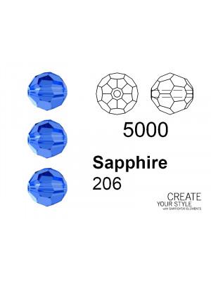 Swarovski Tondo Sfaccettato SAPPHIRE - 5000