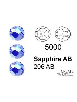 Swarovski Tondo Sfaccettato SAPPHIRE AB - 5000
