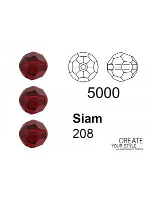 Swarovski Tondo Sfaccettato SIAM - 5000