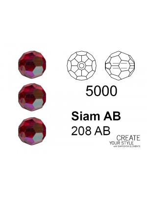 Swarovski Tondo Sfaccettato SIAM AB - 5000