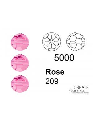 Swarovski Tondo Sfaccettato ROSE - 5000