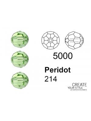 Swarovski Tondo Sfaccettato PERIDOT - 5000
