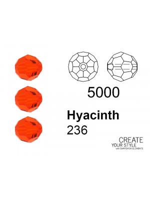 Swarovski Tondo Sfaccettato HYACINTH - 5000