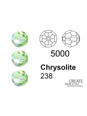 Swarovski Tondo Sfaccettato CHRYSOLITE - 5000