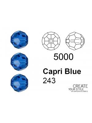 Swarovski Tondo Sfaccettato CAPRI BLUE - 5000
