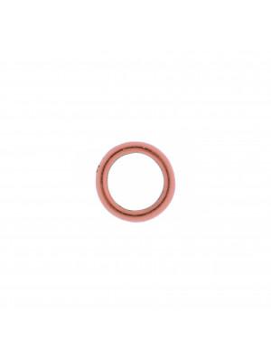 Anello tondo chiuso liscio 14 mm.