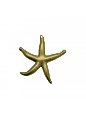 Ciondolo a forma di stella marina gigante, 44x46 mm.