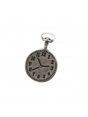 Ciondolo orologio da taschino, 21x32 mm.