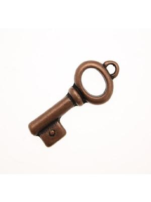 Ciondolo a forma di chiave grossa media 33 mm.