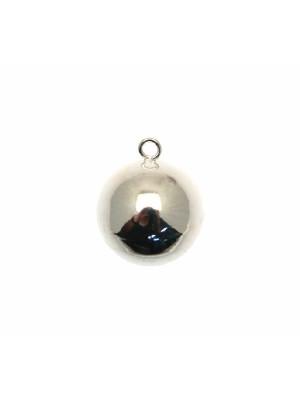 Ciondolo a forma di campanella chiama angeli, 22x26 mm.