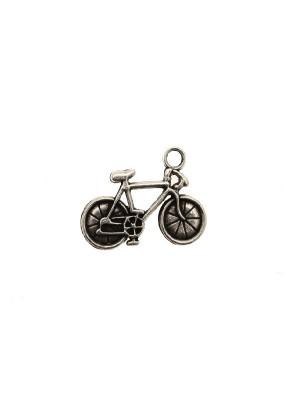 Ciondolo a forma di bicicletta, 32x24 mm.