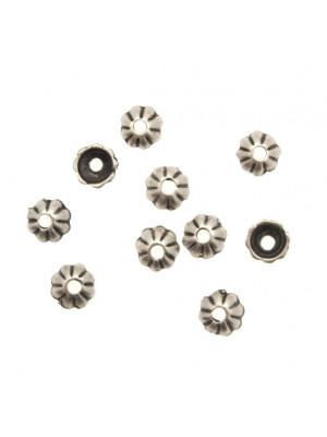 Coppetta tonda a spicchi piccola, diametro 6 mm.