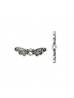 Distanziatore a forma di ali di farfalla, 22x6 mm.