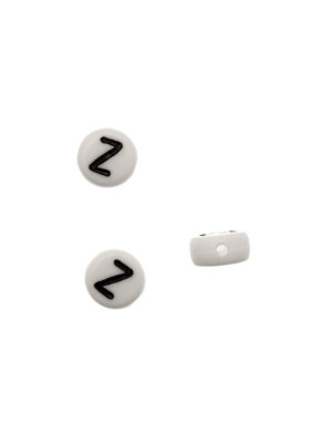 """Distanziatore in resina con disegno lettera """"Z"""", 7x4 mm."""