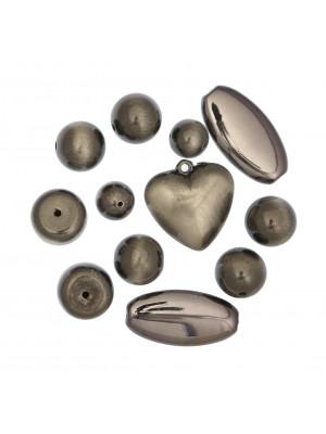 Mix Perline in Resina colore ANTRACITE