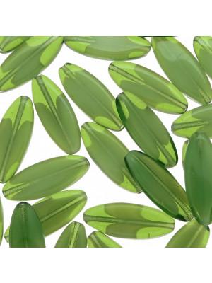 Sema, 20x8 mm., Verde oliva sfumato