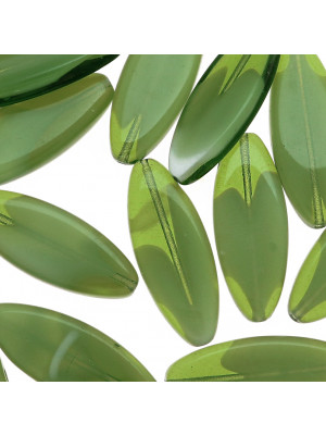 Sema, 30x11 mm., Verde oliva sfumato