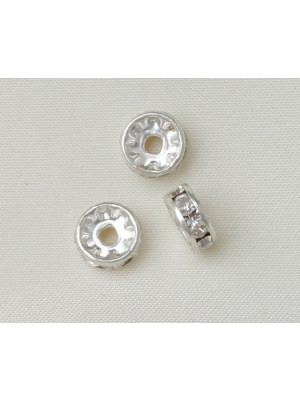 Rondella strass, 12 mm., colore strass Crystal