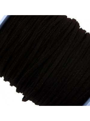Alcantara, spessore 1,4x3 mm, colore Nero