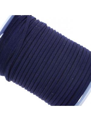 Alcantara, spessore 1,4x3 mm, colore Blu