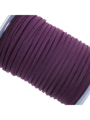 Alcantara, spessore 1,4x3 mm, colore Viola