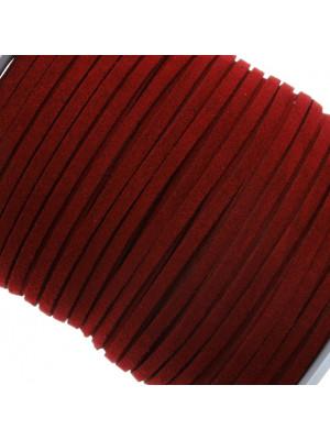 Alcantara, spessore 1,4x3 mm, colore Bordeaux