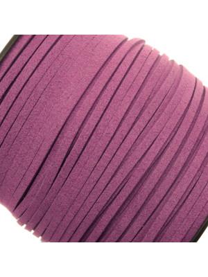 Alcantara, spessore 1,4x3 mm, colore Ametista