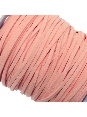 Alcantara, spessore 1,4x3 mm, colore Rosa Chiaro