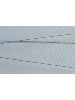 Cavetto, spessore 0,35 mm, colore Acciaio