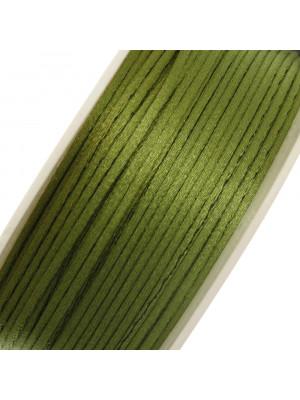 Coda di Topo, spessore 1 mm., colore Verde Oliva