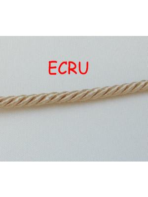 Cordoncino ritorto con 3 fili, spessore 5 mm
