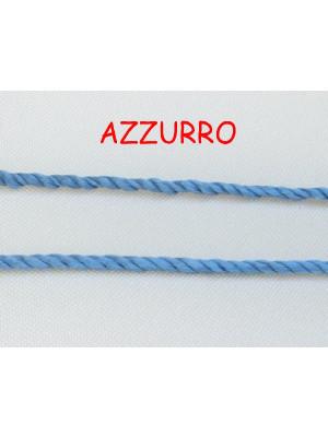 Cordoncino ritorto sottile, spessore 1,5 mm