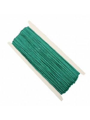 Cordoncino piatto sintetico, (non elasticizzato), alto 3 mm., colore VERDE ACQUA