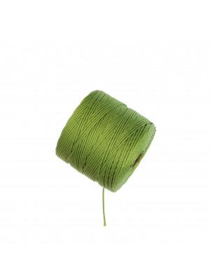 Super-Lon Bead Cord, spessore 0,6 mm., colore AVOCADO