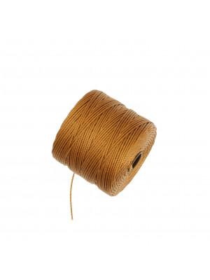 Super-Lon Bead Cord, spessore 0,6 mm., colore ORO