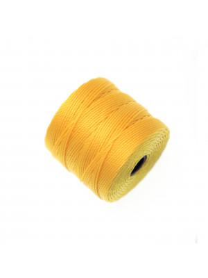 Super-Lon Bead Cord, spessore 0,6 mm., colore GIALLO