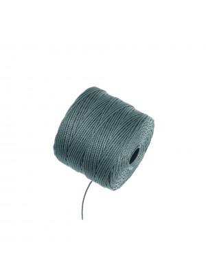 Super-Lon Bead Cord, spessore 0,6 mm., colore BLU ACCIAIO