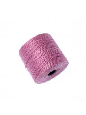 Super-Lon Bead Cord, spessore 0,6 mm., colore CICLAMINO CHIARO