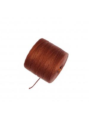 Super-Lon Bead Cord, spessore 0,6 mm., colore MOGANO