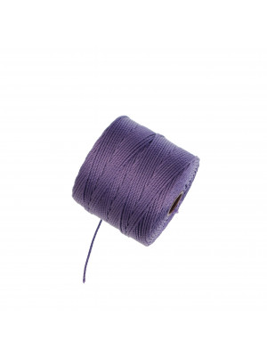 Super-Lon Bead Cord, spessore 0,6 mm., colore LAVANDA SCURO